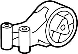 Chevrolet Cruze Manual Transmission Mount. Auto, ENGINE