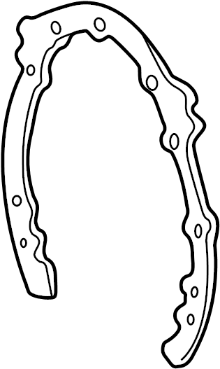 Buick Roadmaster Engine Timing Cover Gasket (Front