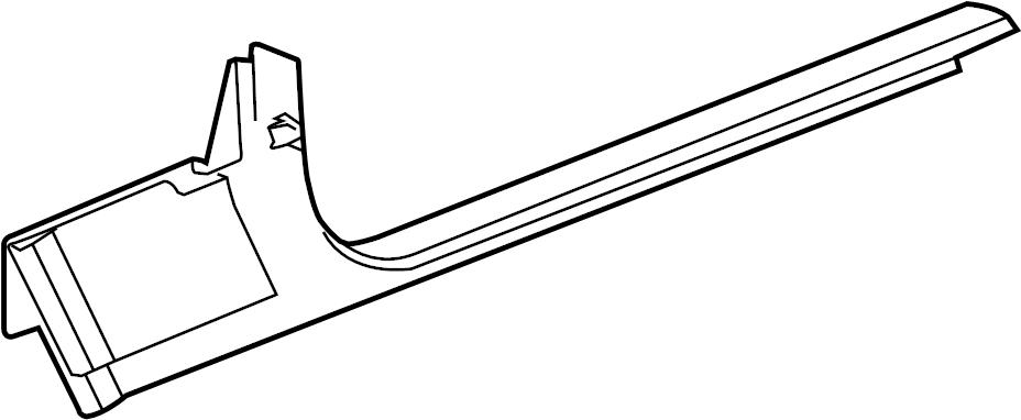 Chevrolet Corvette Door Sill Plate. BASE & 427, cashmere