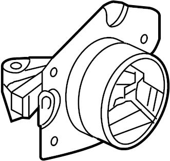 Chevrolet Cobalt Manual Transmission Mount. LITER, ENGINE