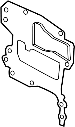 Chevrolet Aveo5 Engine Timing Cover Gasket. 1.8 LITER