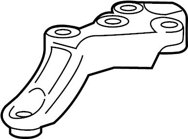 Chevrolet Sonic Automatic Transmission Mount Bracket. 1.4