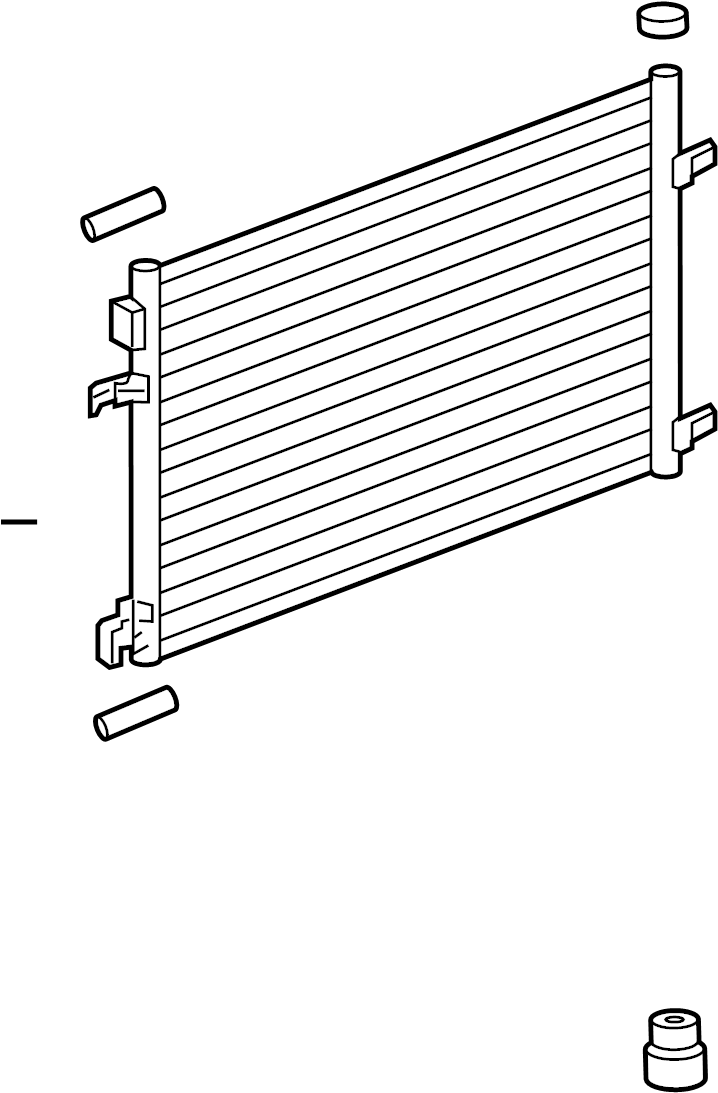 Buick Regal A/c condenser. Liter, conditioning, air