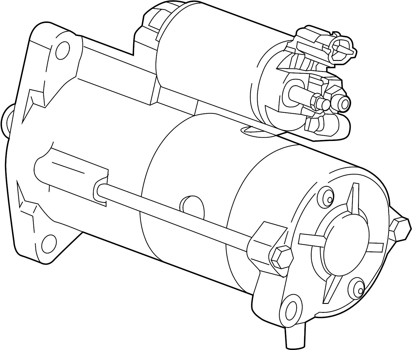 Gmc Terrain Starter Motor Liter