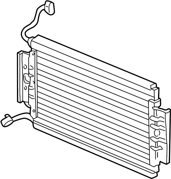 Oldsmobile Alero Air conditioning (a/c) condenser. A/c