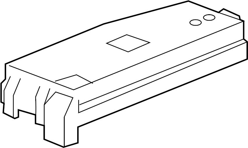 Chevrolet Captiva Sport Fuse Box Cover. UNDERHOOD