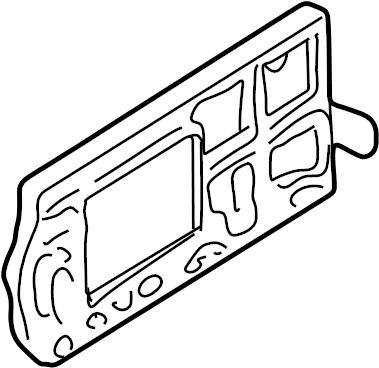 Oldsmobile Silhouette Ignition Control Module. LITER