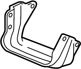 Pontiac Grand Prix Engine Mount Bracket. 3.8 LITER. 3.8