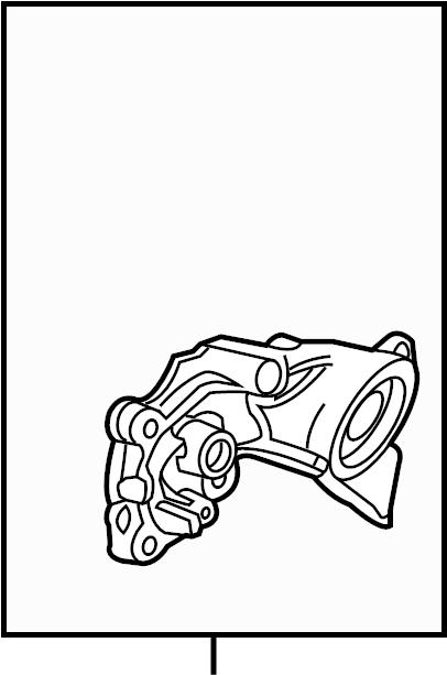 Buick Enclave Engine Oil Filter Adapter. LITER, Coolant