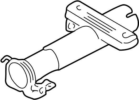 Pontiac Sunfire Steering Column Tube. Cavalier, Sunfire. W