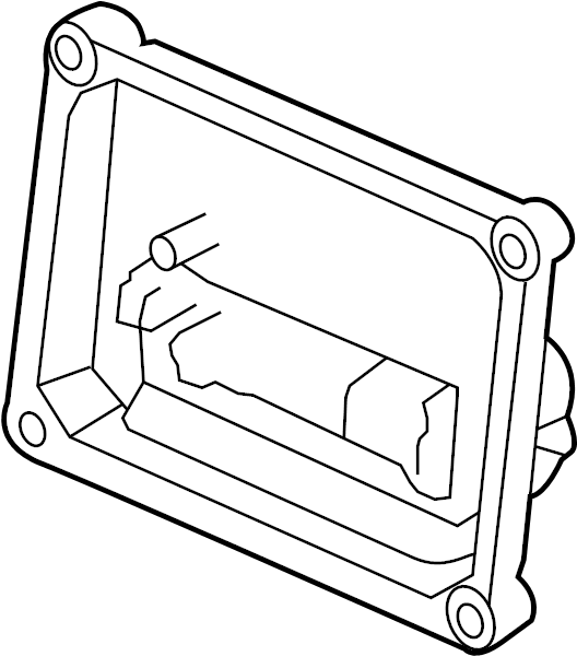 Chevrolet Express 3500 Abs control module. Light, repair