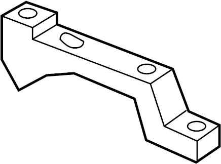 GMC Savana 2500 Egr valve bracket. 2006-2009. Emission