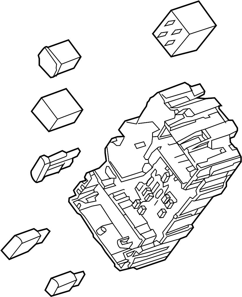 GMC Yukon XL Fuse Box. INSTRUMENT PANEL, 1st design