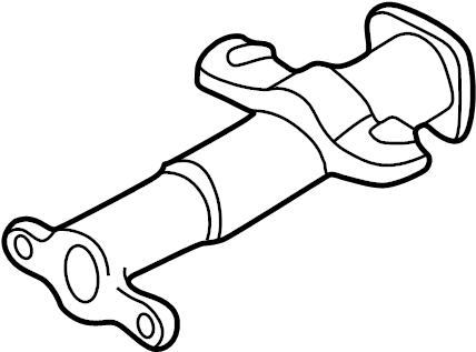 Chevrolet C2500 Suburban Steering Column Tube. Manual