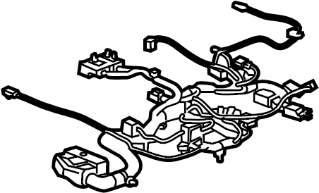 Chevrolet Silverado 1500 Power Seat Wiring Harness. BUCKET