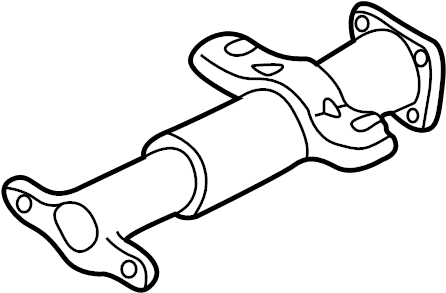 Chevrolet C2500 Suburban Steering Column Tube. Manual