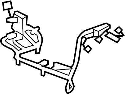 Cadillac Escalade Console Wiring Harness. Entertainment