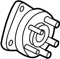 Oldsmobile Silhouette Wheel Bearing and Hub Assembly