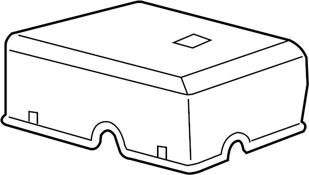 Cadillac Escalade Cover. Fuse. Box. (Upper)., ENGINE