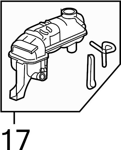 Pontiac Grand Am Engine Coolant Level Sensor. LITER, Make