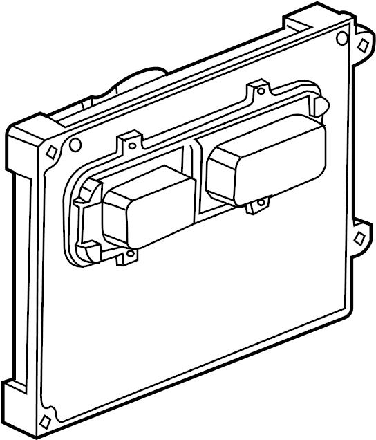 Saturn Vue Engine Control Module. 3.5 LITER. Vue; 3.5L