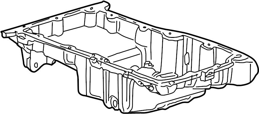 Saturn LS1 Engine Oil Pan. LITER, BEARINGS, CYLINDER