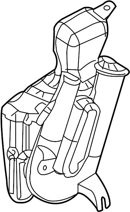 Saturn Ion Engine Air Intake Hose. LITER, SEDAN, Duct