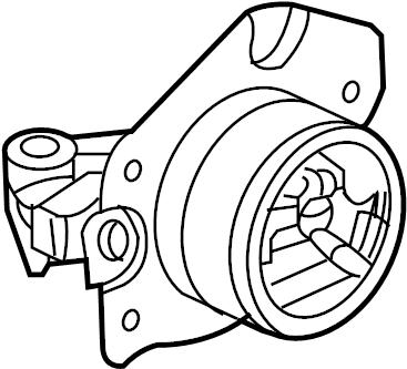 Chevrolet Cobalt Manual Transmission Mount (Upper