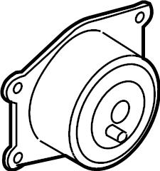 Saturn Astra Engine Mount. Design, Trans, BEARINGS