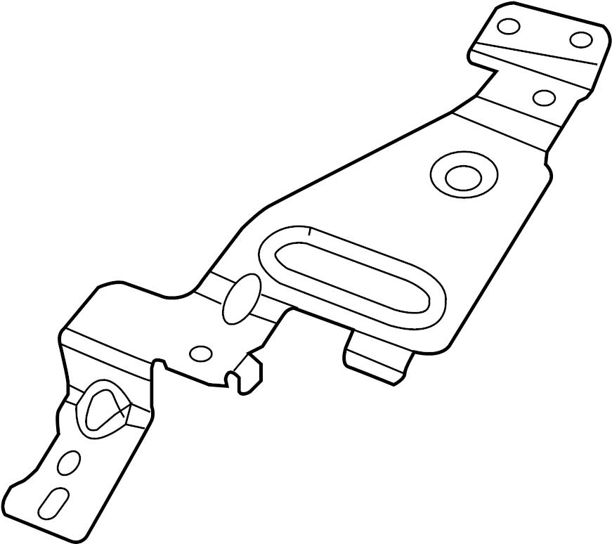 GMC Sierra 1500 Mobile Phone Control Module Bracket