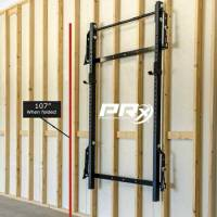 PRx Performance Wall Mount Folding Squat Rack with ...