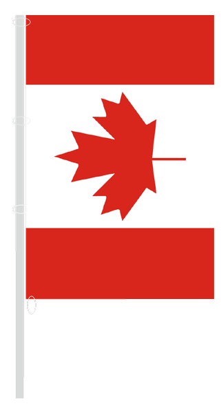Canada - Vertical flag with carabiners | buyflags.eu