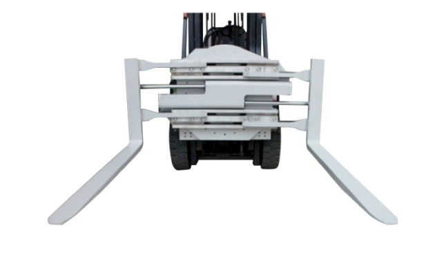 Class 2 Forklift Attachment Rotating Fork Clamp With 1220 mm Length