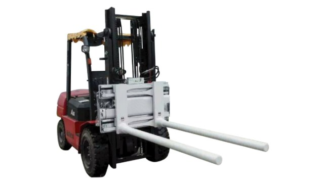 Side Shifting Bar Arm Clamps With Forklift