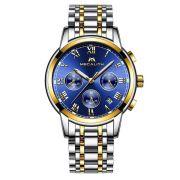 gold blue steel