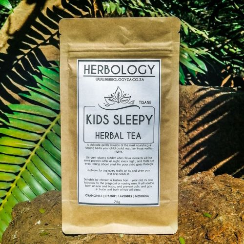 Herbology Kids Sleepy Tea is a delicate and gentle infusion of the most nourishing and healing herbs for not only expecting mom but baby and child as well.