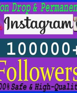 Buy 100000 Instagram Followers