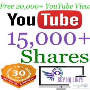 Buy 15000 YouTube Shares