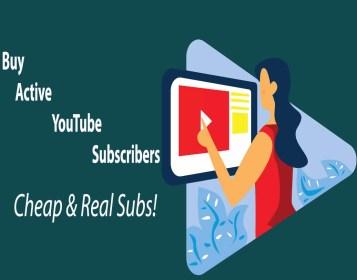 Buy Active YouTube Subscribers