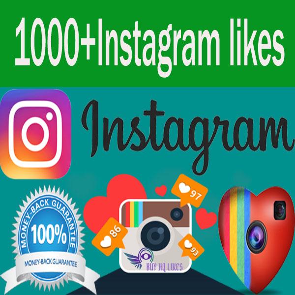 Buy 1000 Instagram likes