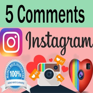 Buy 5 Instagram Comments