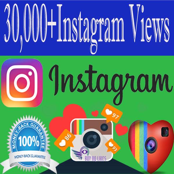 Buy 30000 Instagram Views
