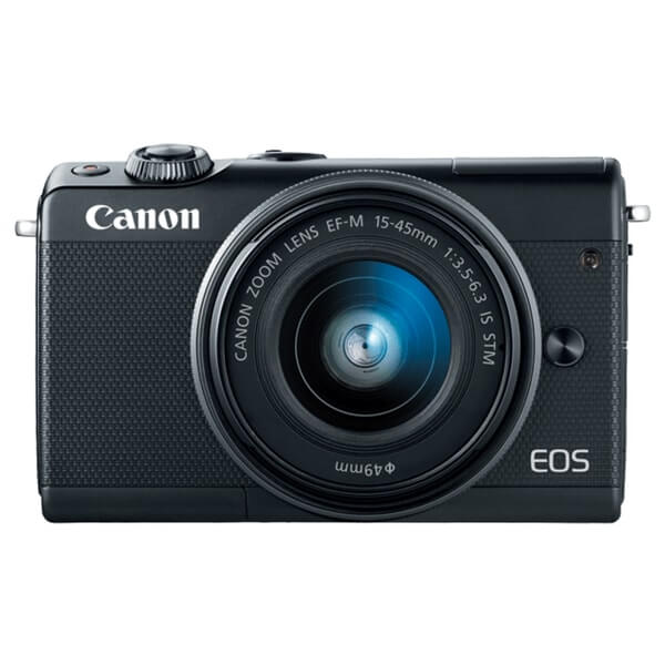 Canon EOS M100 Black Front View, Canon EOS M100 Best Buy, Canon EOS M100 Offers. Canon EOS M100 Bundle Offers