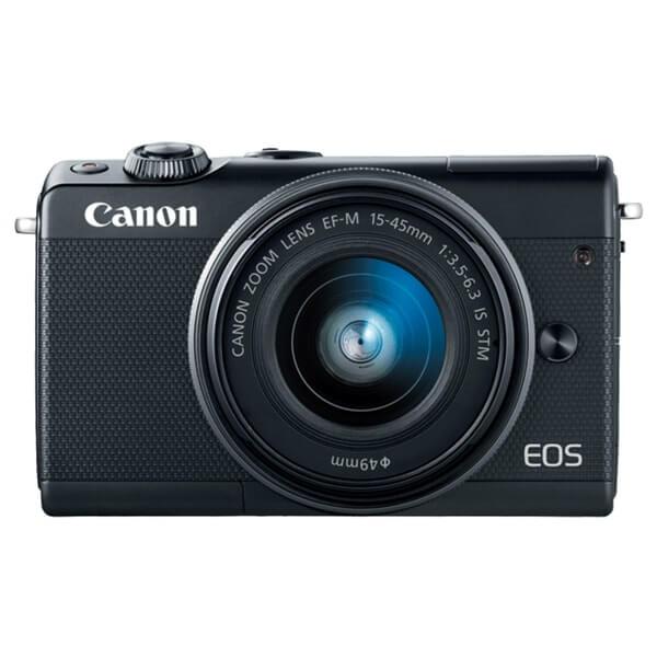 Canon EOS M100 Black Front View, Canon EOS M100 Best Buy, Canon EOS M100 Offers. Canon EOS M100 Bundle Offers