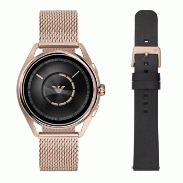 Emporio Armani Connected 2018, Emporio Armani Connected 2018 rose gold colour, Emporio Armani Connected 2018 smartwatch colour options, Emporio Armani Connected 2018 rose gold colour images, Emporio Armani Connected 2018 smartwatch smartwatch rose gold colour pics, Emporio Armani Connected 2018 smartwatch app store