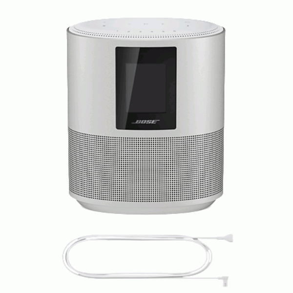 Bose Home Speaker 500, Bose Home Speaker 500 power cord, Bose Home Speaker 500 display, Bose Home Speaker 500 touch display, Bose Home Speaker 500 controls, Bose Home Speaker 500 connectivity, Bose Home Speaker 500 features, Bose Home Speaker 500 warranty, Bose Home Speaker 500 user manual