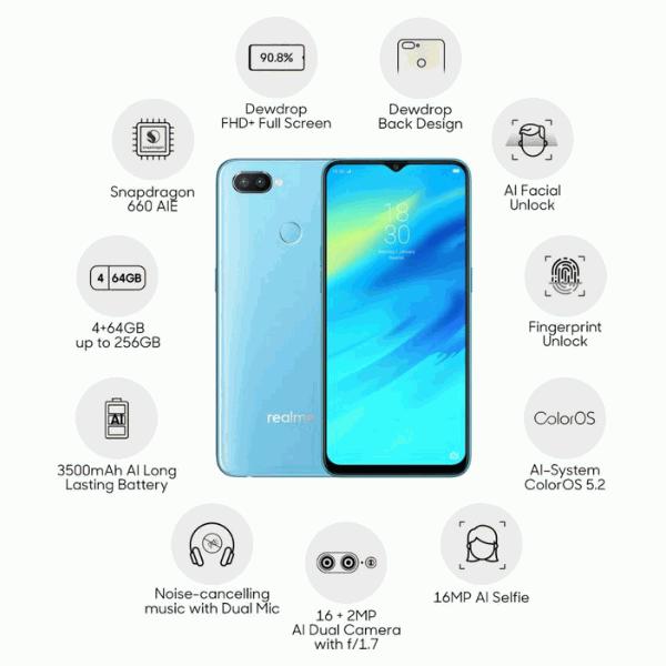 Realme 2 Pro, Realme 2 Pro india price, Realme 2 Pro processor, Realme 2 Pro ram, Realme 2 Pro internal storage, Realme 2 Pro 8gb ram