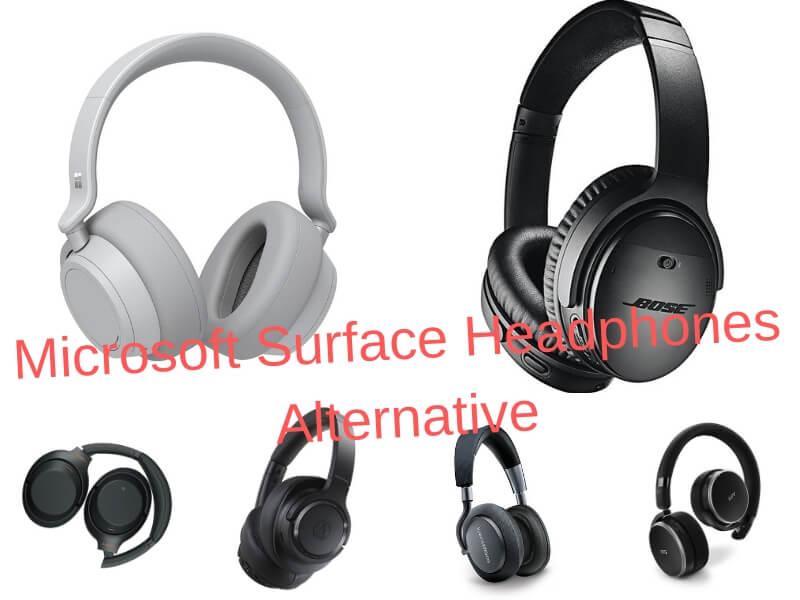 Microsoft Surface Headphones, Microsoft Surface Headphones alternative, Microsoft Surface Headphones competitor, Microsoft Surface Headphones options, Microsoft Surface Headphones versus