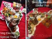 Ardor 2.1 Election Special Thali Where Dishes From 28 States Served In Indian Map