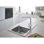 Grohe Minta Stainless Steel Kitchen Sink Tap Bundle 31573sd0 Buyitdirect Ie